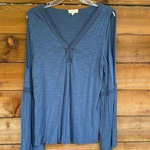 Cupio Gypsy style shoulder perk blouse